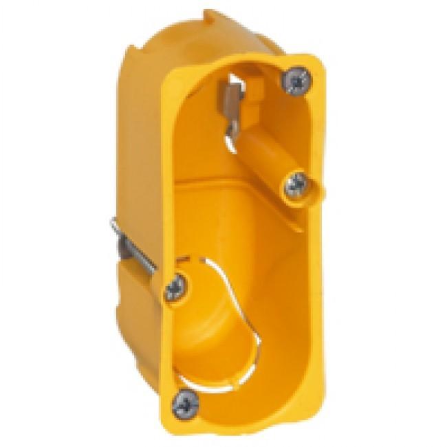 LEGRAND - Boîte monoposte Batibox - cloison sèche - pour Céliane/Mosaic - 1 mod - prof. 40 - REF 080040