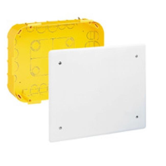 LEGRAND - Boîte pour dérivation Batibox - cloison sèche - 115x115x40 mm - couv 140 x 140 - REF 089372