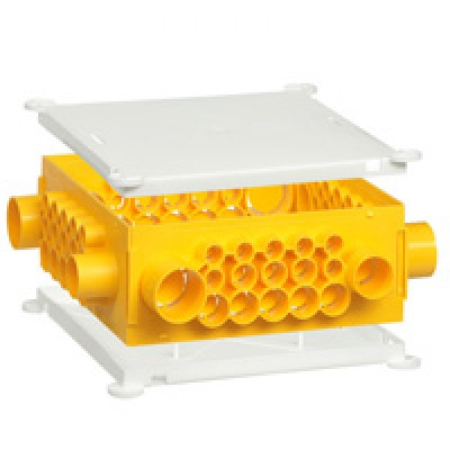 LEGRAND - Boîte pour combles et hourdis Batibox - cloison sèche - 190 x 190 x 80 mm - REF 089381