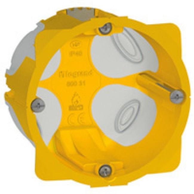 LEGRAND - Boîte monoposte Prog. Ecobatibox - prof. 50 mm - REF 080031