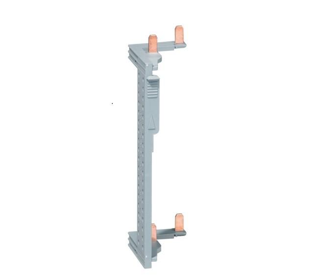 HAGER - Barre alimentation des Interrupeteur Différentiel pour coffret 2 rangées entraxe 125 mm - Ref KCN225
