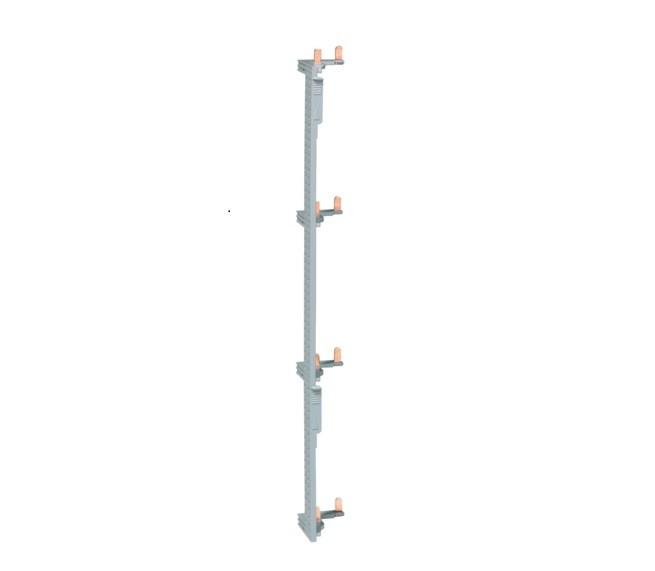 HAGER - Barre alimentation pour Interrupteur Différentiel pour coffret 4 rangées entraxe 125 mm - Ref KCN425