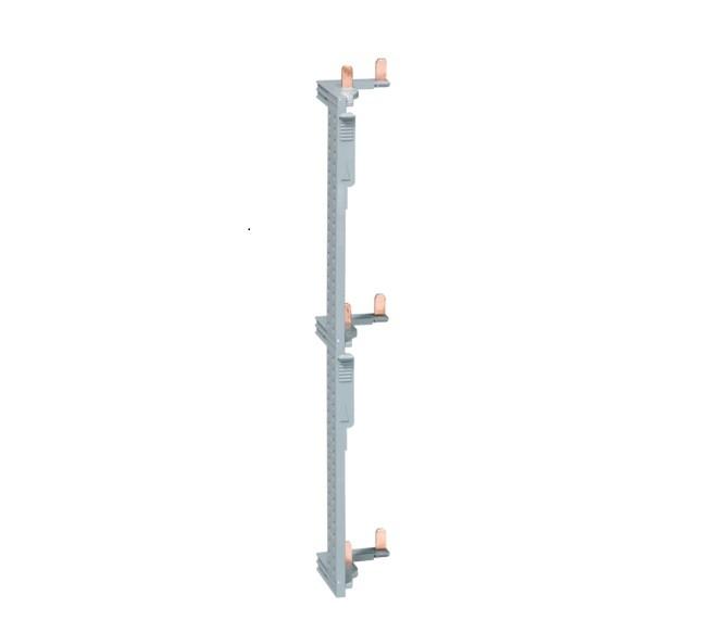 HAGER - Barre alimentation Interrupteur Différentiel pour coffret 3 rangées entraxe 125 mm - Ref KCN325
