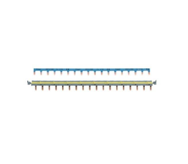 HAGER - Barres pontage système SanVis 18 modules - Ref - KBS763G