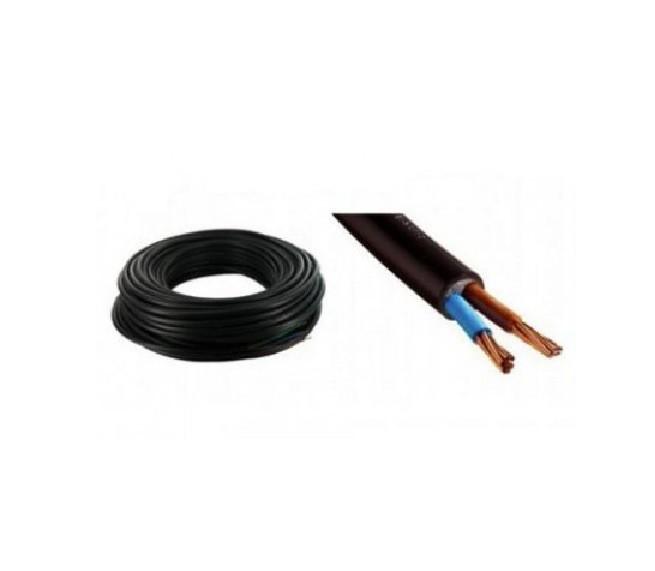 MIGUELEZ - Câble Electrique rigide 2X1.5 Sans V/J - Couronne de 100m