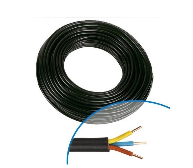 MIGUELEZ - Câble électrique RO2V 3G 1.5 - Couronne de 100m - REF CabrO2v3G1.5