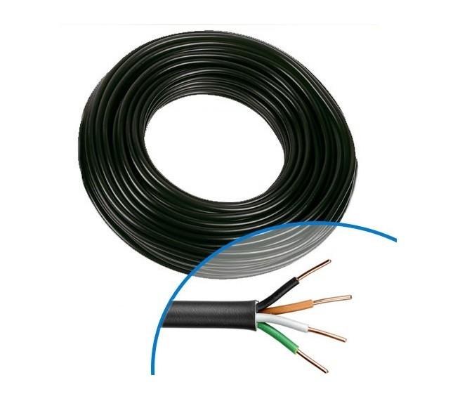 MIGUELEZ - Câble électrique RO2V 4G1.5 - Couronne de 100m