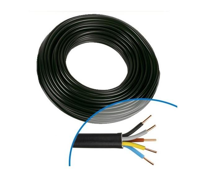 MIGUELEZ - Câble électrique RO2V 5G1.5 - Couronne de 100m