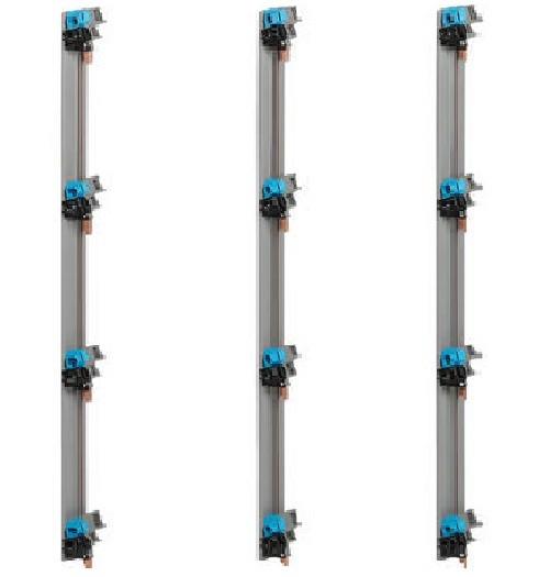 LEGRAND - LOT de 3 Peignes Verticale Entraxe 125 mm pour coffret 4 Rangées ref 405002