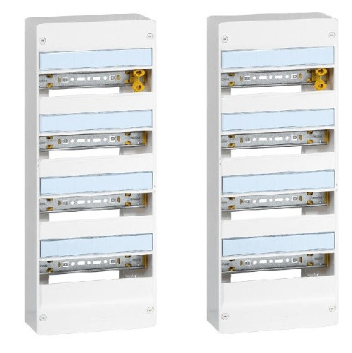 LEGRAND - LOT de 2 Coffrets DRIVIA Coffret DRIVIA 13 modules 4 rangées IP30 IK05 - ref 401214