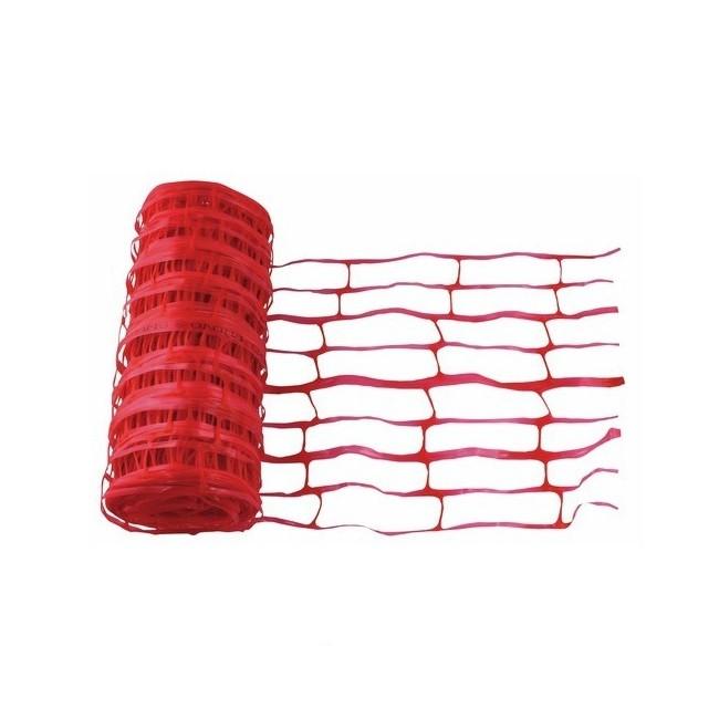 Grillage avertisseur rouge 30cm, L.25 m - ref 3025