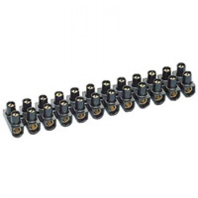 LEGRAND - Barrette de connexion Nylbloc - cap 6 mm - noir - REF 034213