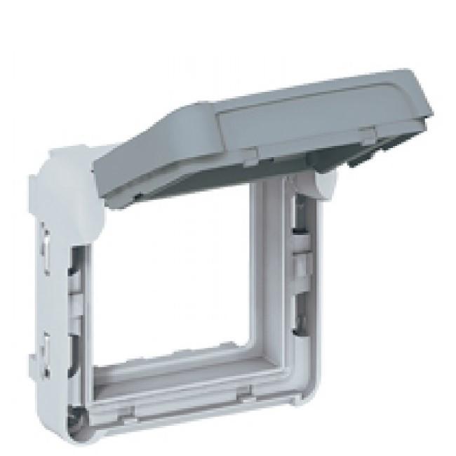 LEGRAND - Adapateur Prog Plexo composable pour fonction Mosaic - volet fumé -Ref 069580