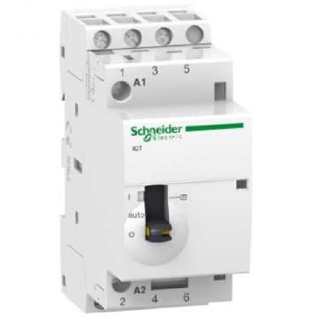 Schneider Electric - Acti9, iCT contacteur à commande manuelle 25A - ref A9C21833