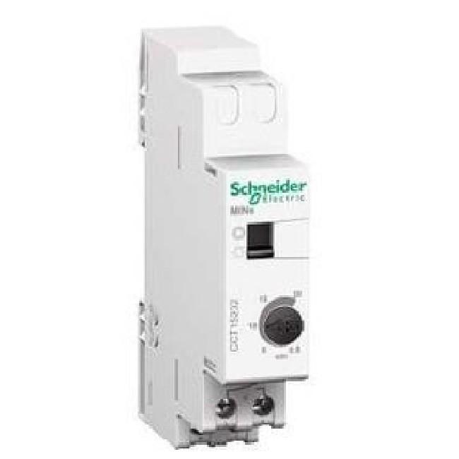 SCHNEIDER ELECTRIC - Minuterie avec marche forcée MINs, 0,5 à 20 mn contact F Prodis - ref CCT15232