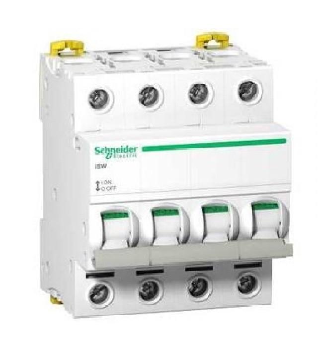SCHNEIDER ELECTRIC - Acti9 iSW interrupteur-sectionneur 4P 40A 415VAC - ref A9S65440