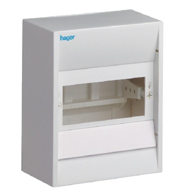 HAGER - Coffret cache-borne, 6 modules - Ref GD106A