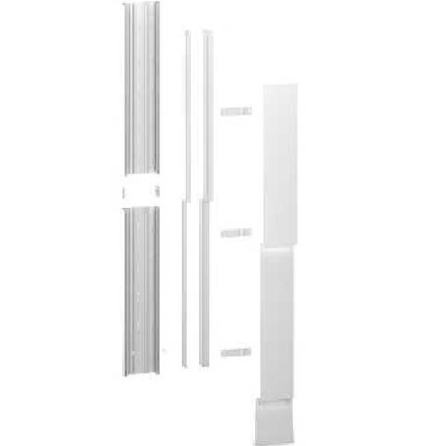 Schneider Electric - Kit Goulotte GTL - 13 Modules - Avec Couvercles - 2 Demi-Longueur De 1200 x 252 x 64 mm - Resi9 - R9HKT13