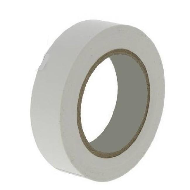 Ruban  adhésif PVC Isolant Blanc avec Elecmarq