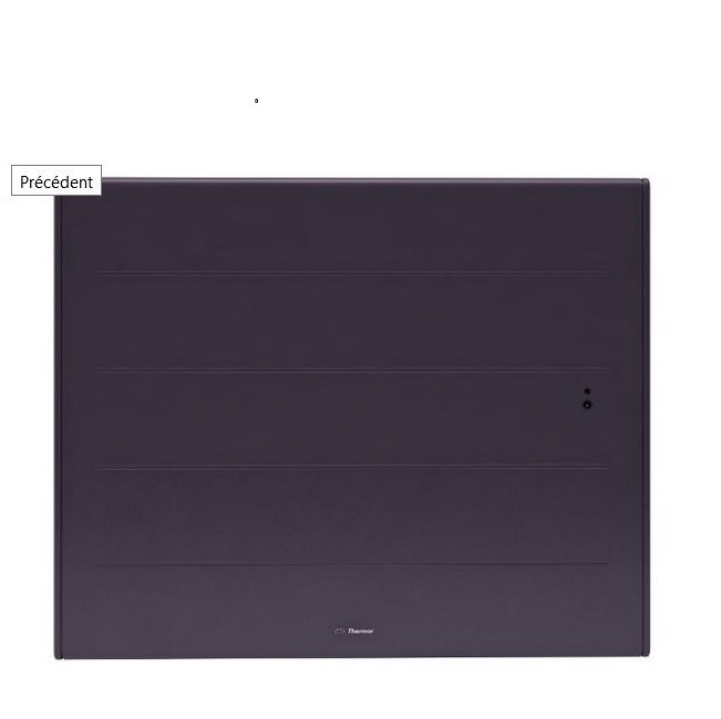 Thermor - Radiateur connecté Ovation 3 - Horizontal - 1500W  Gris - REF 480504