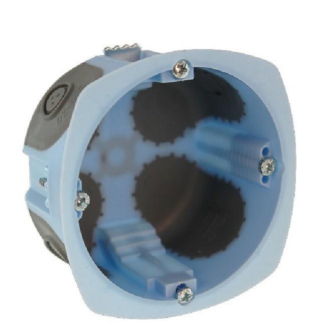 Eur\'Ohm - Pack de 100 boites encastrables XL AIRMETIC Ø67mm - REF 52061