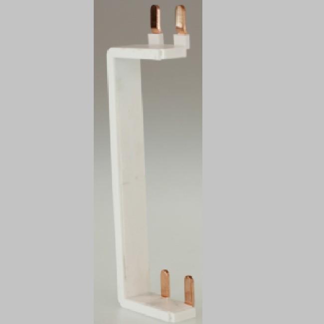Eur\'ohm - Peigne vertical - Monobloc - Phase+Neutre  63A -  Réf 19072