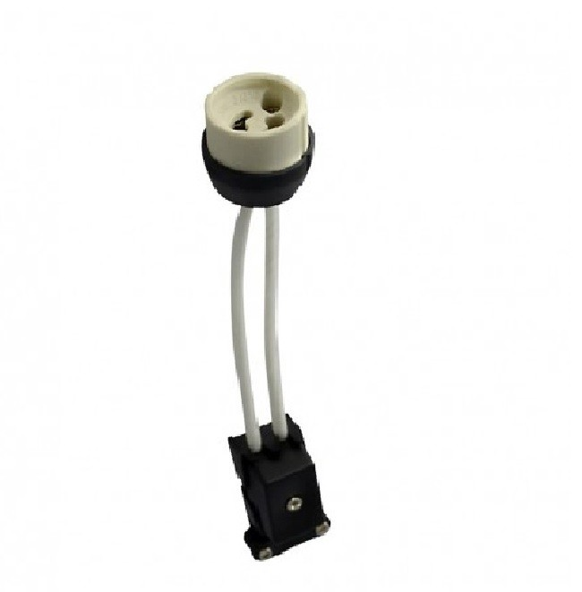 MIIDEX - Douille céramique GU10 CL2 avec câble - Réf 73993