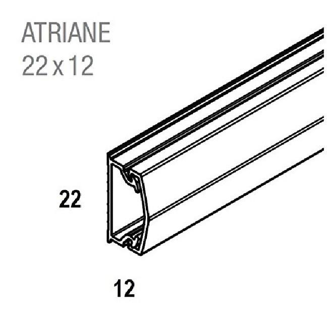 REHAU - Moulure Adhesive - ATRIANE - 22X12 mm - Réf - 735790-100