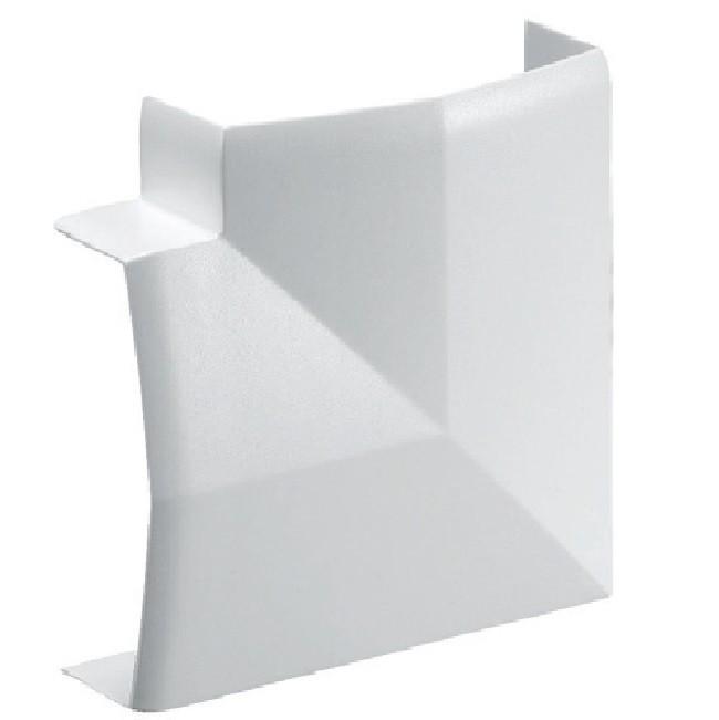 REHAU - Angle Plat pour Moulure  Atriane - 34X17 mm - Ref - 735728 -100
