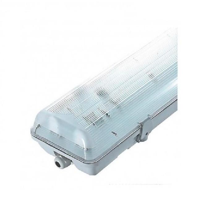 MIIDEX - Boitier Etanche LED sans ballast x 2 Tubes T8 de 120 cm - 36W maxi - REF - 75920