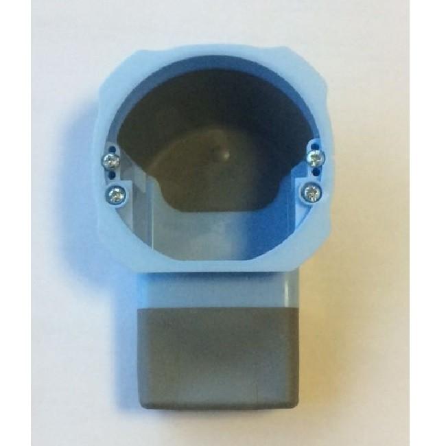 EUR\'OHM - Boîte d\'encastrement 1 poste RT2012 Speciale domotique - Réf - 52076