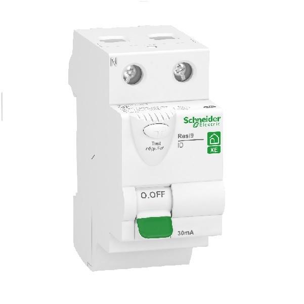 SCHNEIDER ELECTRIC - Rési9 XE Interrupteur Différentiel 2P 40A - 30mA - type A - Embrochable - REF R9ERA240