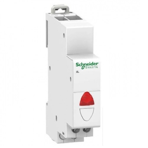SCHNEIDER ELECTRIC - Acti9 - iLL Voyant lumineux simple - 110...230 V CA - Rouge - ref - A9E18320