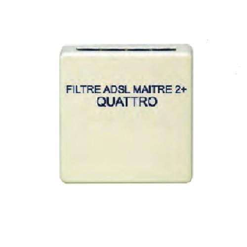 TONNA - Filtre ADSL - 2U - Rail DIN avec cordon de liaison DTI - Réf - 828690