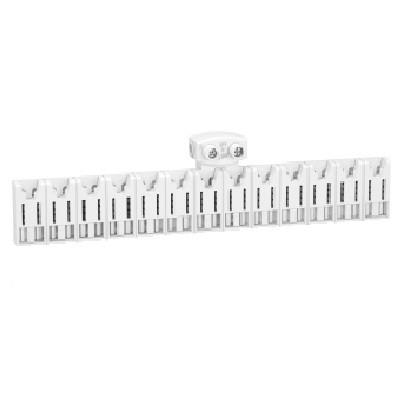 SCHNEIDER ELECTRIC - Rési9 XE Répartiteur 13 modules - Avec connecteur - REF R9EXHC13