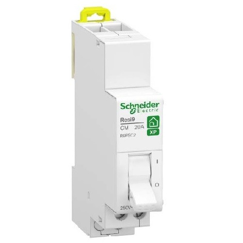 SCHNEIDER ELECTRIC - Resi9 XP - commutateur 2 positions - 1OF - 20A - 250VCA - ref - R9PSC2