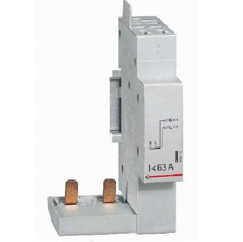 LEGRAND - Module de raccordement par peigne pour DX - borne auto - 2P jusqu\'à 63A - 1 module -Ref - 406300