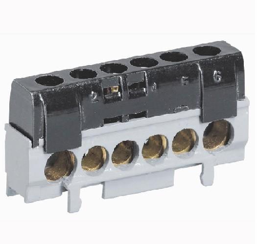 LEGRAND - Bornier de répartition IP2X phase - 1 connexion 10mm à 35mm - L2mm - Ref - 004816