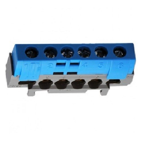 LEGRAND - Bornier de répartition IP2X neutre - 1 connexion 10mm à 35mm - L62mm - Ref - 004815