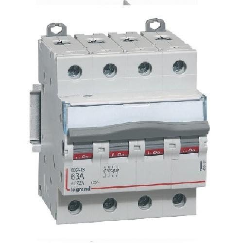 LEGRAND - Interrupteur-sectionneur de tête DX-IS à vis - 4P - 400 V~ - 63 A - Réf 406481