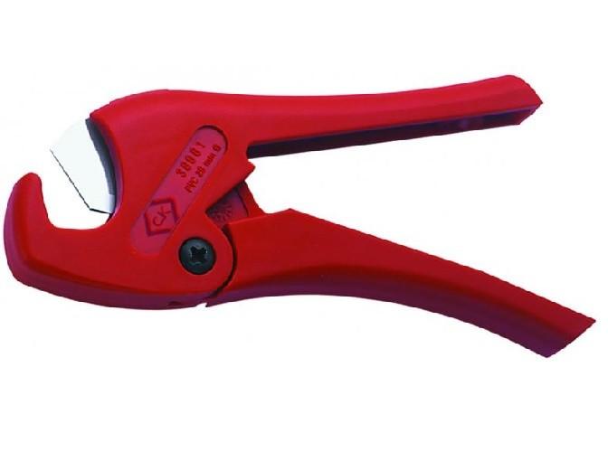 CK - Pince Coupe Tube PVC et conduits - tube 28mm Max, Longueur 195mm - Réf - T430001