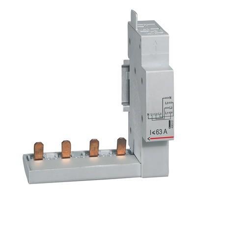 LEGRAND - Module de raccordement pour DX , DX-ID et DX-IS - à borne automatique - 4P jusqu\'à 63A - 1 module - 406301