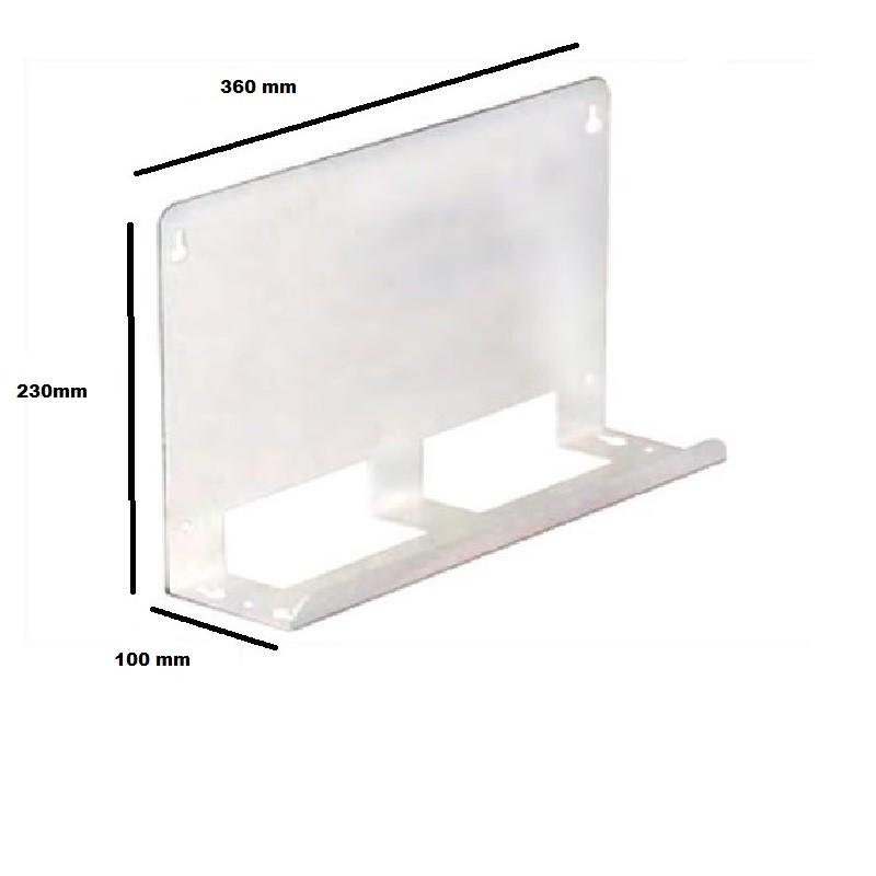 Support Mural BOX - 18 modules - REF - SUPBOX18M