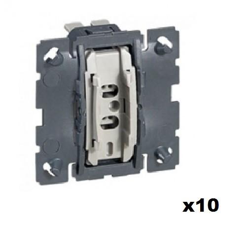 LEGRAND - LOT Céliane 10 Va et Vient ou commande de VMC - Réf - 067001