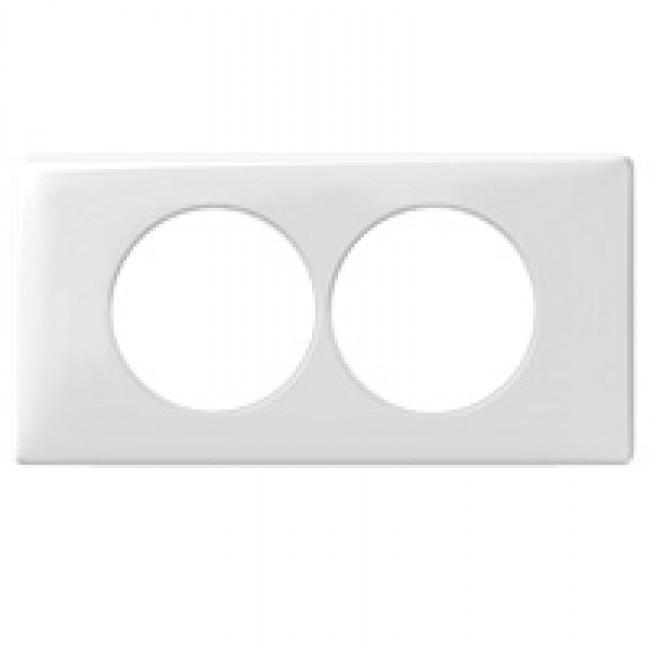 LEGRAND - Plaque Céliane - Memories - 2 postes pour rénovation - Yesterday - REF 068808