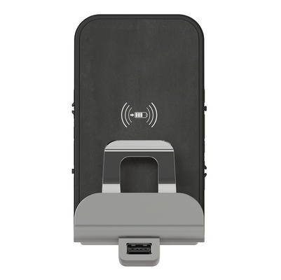 LEGRAND - Chargeur à induction + chargeur USB Type-A dooxie finition métallisée - REF 600348