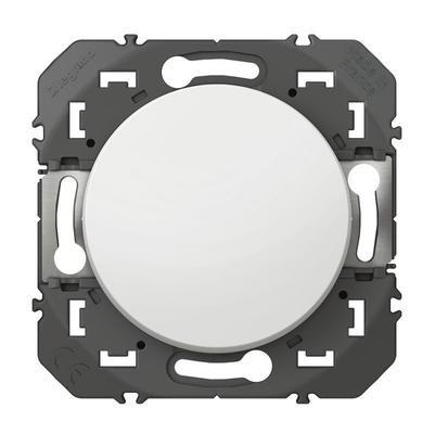 LEGRAND - Poussoir simple dooxie 6A 250V~ finition blanc - REF 600004