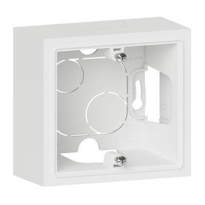 LEGRAND - Cadre saillie 1 poste dooxie finition blanc - REF 600041