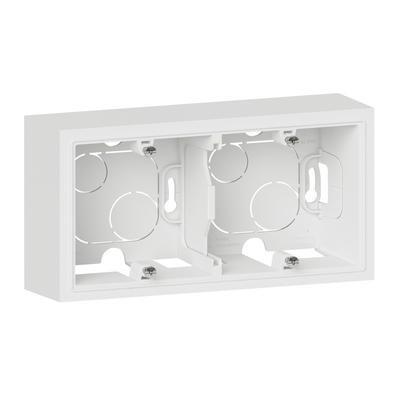 LEGRAND - Cadre saillie 2 postes dooxie finition blanc - REF 600042