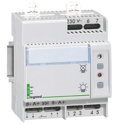 LEGRAND - Télécommande Lexic multifonction non polarisée - jusqu\'à 300 blocs - 4 mod - REF 003900